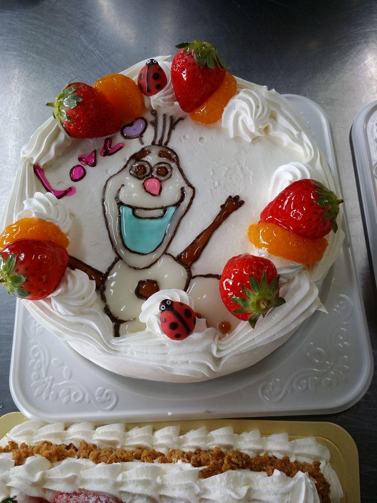 今日のオーダーケーキ