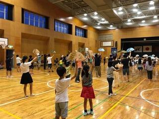 踊り練習2017