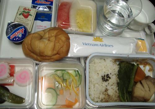 ベトナム航空の機内食3
