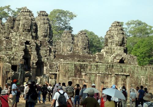 【2010年】カンボジア・アンコールワット旅行 夫婦二人でカンボジア・アンコールワットへ