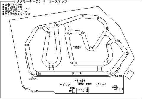 201309成田スポーツランドコース図