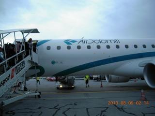 イタリア2013 �空の旅 仙台〜成田〜ミュンヘン〜ヴェローナ