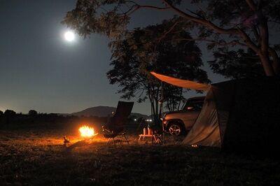 ソロキャンプ(夜)