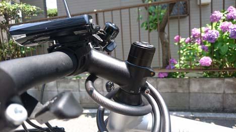 クロスバイクのハンドルを下げてみました、これは簡単で効果ありです!