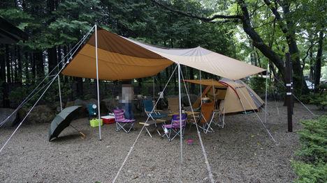 キャンプで一番気持ちのいい空間は?13
