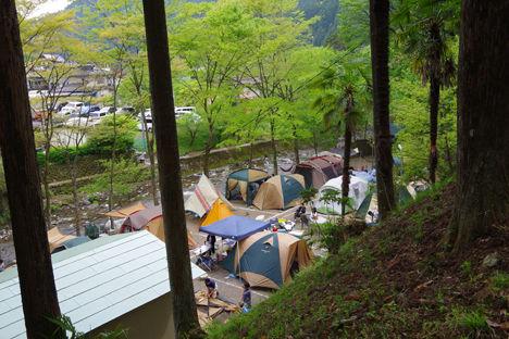 飯能のせせらぎキャンプ場1