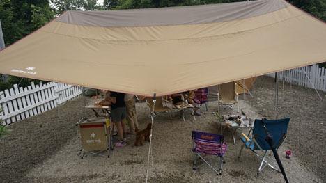キャンプで一番気持ちのいい空間は?10