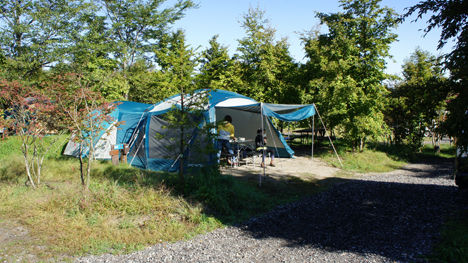 キャンプで一番気持ちのいい空間は?3