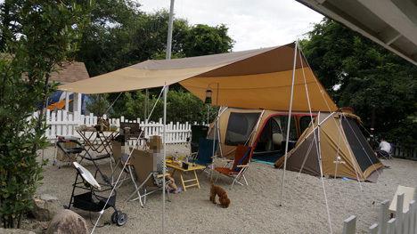 ワンコと一緒のキャンプならドッグランサイト9