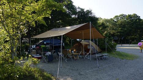 キャンプで一番気持ちのいい空間は?11