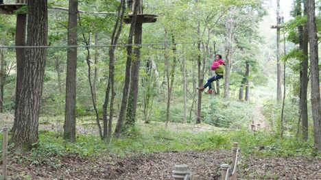 地上12mの森を冒険するフォレストアドベンチャーがお勧め!9