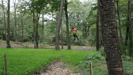 地上12mの森を冒険するフォレストアドベンチャーがお勧め!8