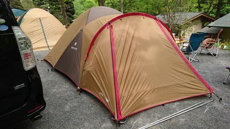 飯能のせせらぎキャンプ場10