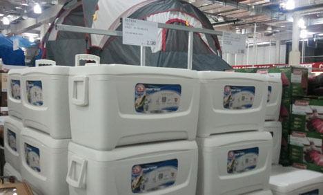 クーラーボックスの賢い使い方!2重にすれば低価格商品でも高級品以上の保冷力に!