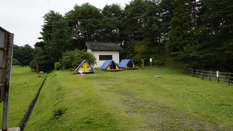 宮城県 松島町野外活動センターのキャンプ場キャンプ場は、テント1張り500円と格安なのです。