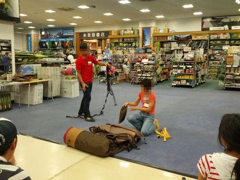 初心者でもカンタンにスノーピークのランドロックが設営可能!スノーピークストア北戸田店バージョンです。