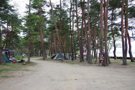 予約が取れない時にオススメは、天神浜オートキャンプ場。3