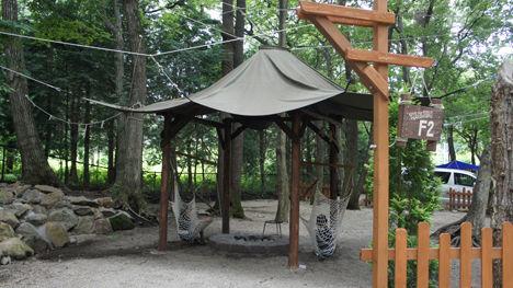 キャンプで一番気持ちのいい空間は?15