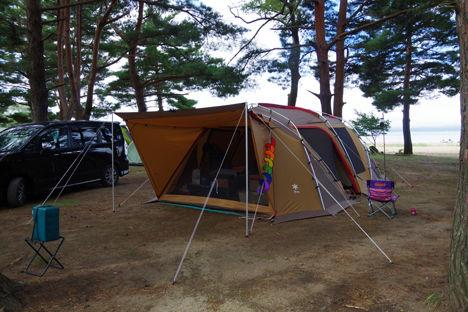 キャンプ場のイメージは、隣のキャンパーで180度変わります。