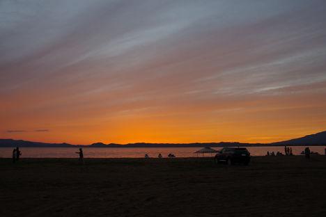 2015-9-猪苗代湖の夕焼け