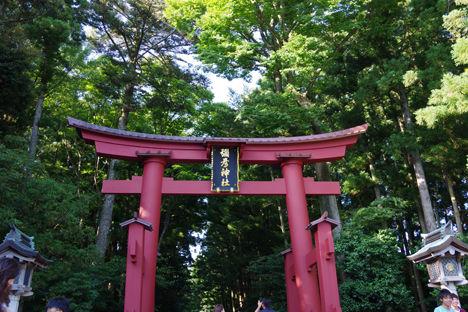 スノーピーク本社に近い彌彦神社2