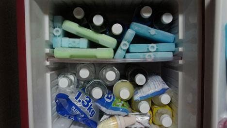 保冷力の高いクーラーボックスを買う前に、保冷剤の管理を!