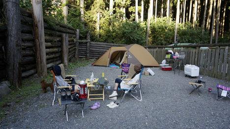 キャンプで一番気持ちのいい空間は?5