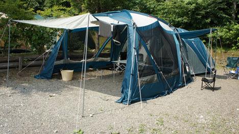 キャンプで一番気持ちのいい空間は?1