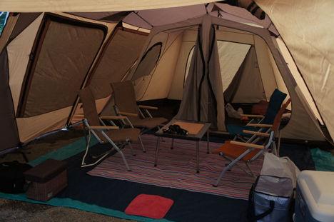 キャンプで一番気持ちのいい空間は?8