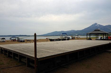 予約が取れない時にオススメは、天神浜オートキャンプ場。21