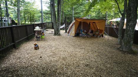 ワンコと一緒のキャンプならドッグランサイト2
