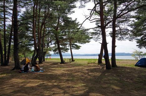 予約が取れない時にオススメは、天神浜オートキャンプ場。4