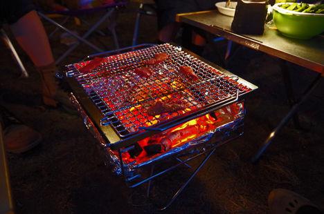 スノーピークの焚火台Mの掃除を簡単にする方法3