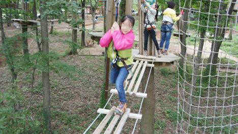 地上12mの森を冒険するフォレストアドベンチャーがお勧め!5