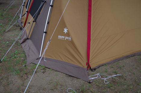 強風時のいテントもこれなら安心4