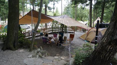 キャンプで一番気持ちのいい空間は?12
