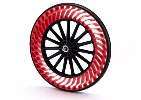 ブリヂストン、空気不要の自転車タイヤ開発 すげぇええwww