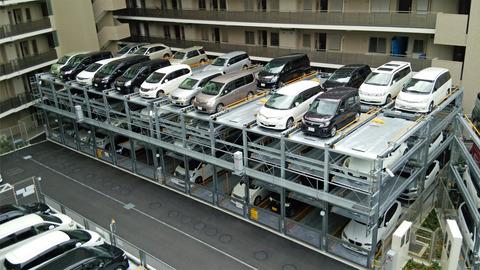 a立体駐車場