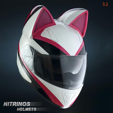 【バイク】バイク用の「猫耳ヘルメット」が発売