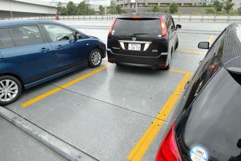 みんな車の駐車って一発で出来る?