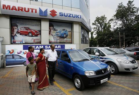 【自動車】インド スズキ新車販売台数が過去最高に