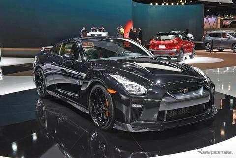 日産 GT-R が2018年型を公開 1106万円