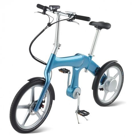 【商品】時速25km出せる 「チェーンレス」の充電式電気自転車