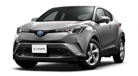 【クルマ】トヨタ、TNGA採用の新型コンパクトSUV「C-HR」の概要初公開 年末に発売へ