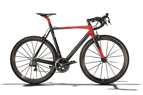 【自転車】アウディ、重さ5.8キロの超軽量レーシングバイク「Audi Sport Racing Bike」を公開 価格は約237万円