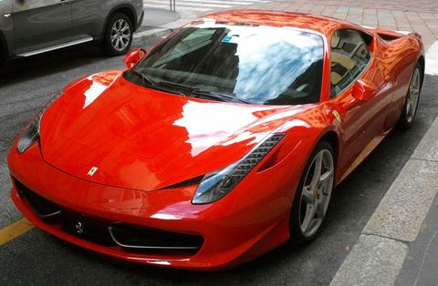 同窓会にフェラーリ458で行った結果www