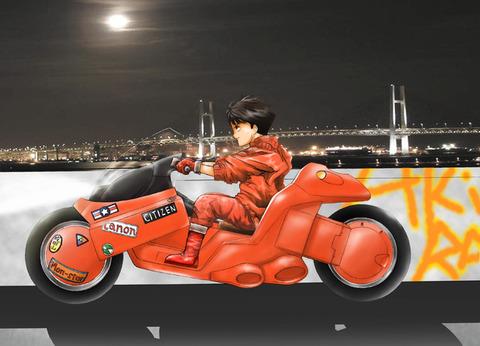 AKIRAの金田バイクは何故あんなにもかっこいいのか