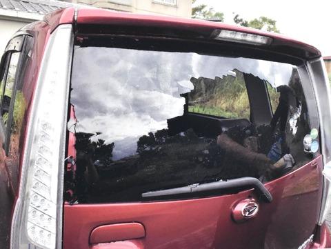 【徳島】台風で木の枝折れ駐車場の車破損、小松島市中郷町の市営団地 市、修理費負担撤回 「市は責任を取ってほしい」