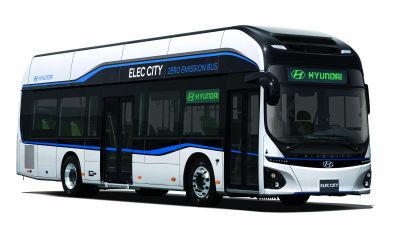 【自動車】30分の充電で170km走ることができるEVバス「Elec City」を韓国のヒュンダイ自動車が発表