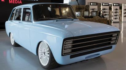 【EV】露カラシニコフが電気自動車を発表 「米テスラに対抗」 レトロデザイン「CV-1」
